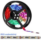1m 24V LED pás 4-chip RGB-NW 60xSMD5050 IP65