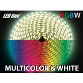 5m RGB-WN LED pásik 60 SMD 5060/m, 19.2W/m, IP20