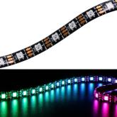 5m digitalny LED pásik RGB 60x SMD5050 IP20 600 IC na 5m WS2813 5V