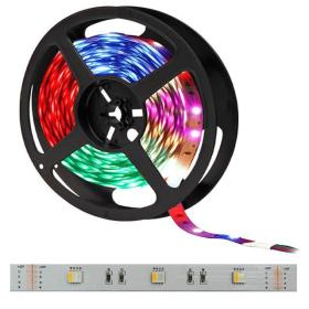 1m LED pás 30x SMD5050 4-chip RGB-CW IP20