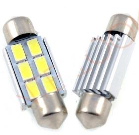 LED auto žiarovka C5W 6 SMD5630 Canbus 36mm