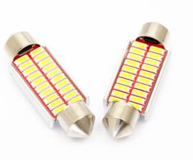 LED auto žiarovka 39mm C5W 20 SMD4014 CANBUS